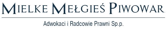 Logo kancelarii adwokackiej - Mielke Mełgieś Piwowar